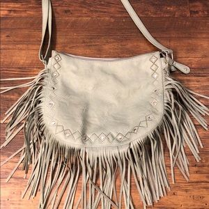 Handbags - Shoulder tassel purse